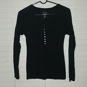 Old Navy black top size small